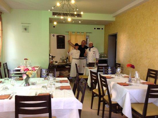 Mondavio, Italy: Sala e Chef