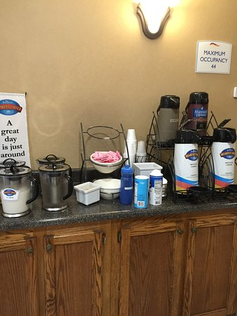 Cartersville, Gürcistan: Continental breakfast options