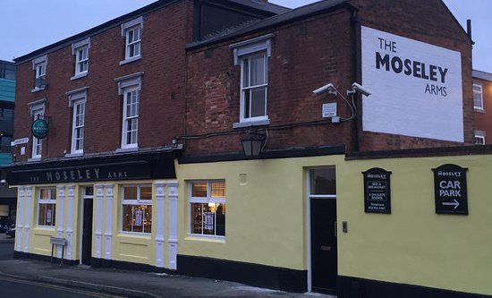 The Moseley Arms: friendly welcome