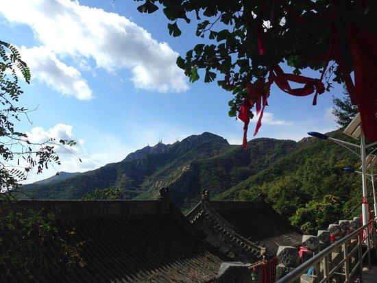 Pulandian, Çin: Dahieshan's north face from Shenshui