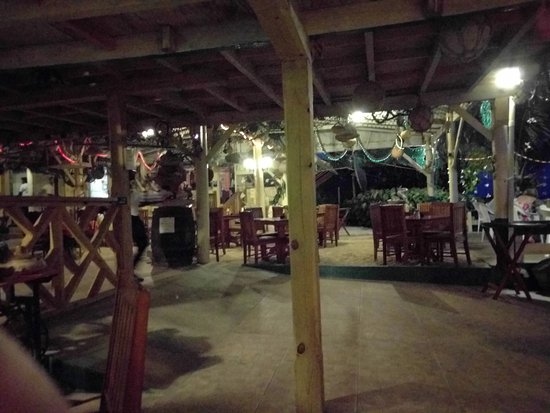 Crab Hill, Antigua: View of the downstairs