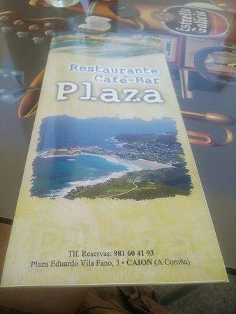Province of A Coruna, Spagna: Restaurante Bar Plaza