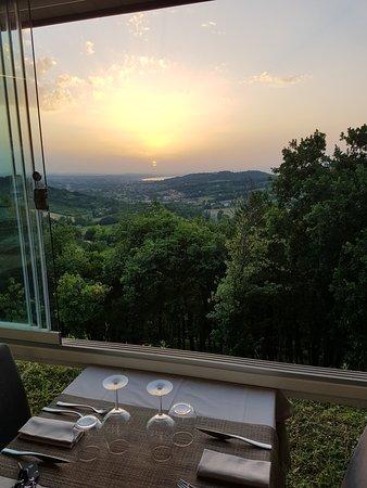 Panorama Al Tramonto Picture Of Terrazza Sant Anna Cagli