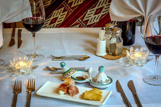 Cartajima, إسبانيا: Delicious dinners