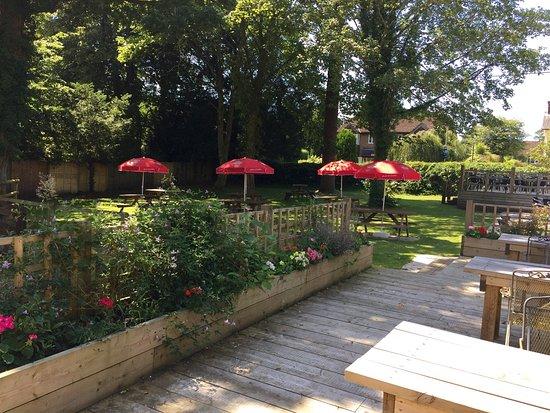 Liss, UK : Our lovely beer garden