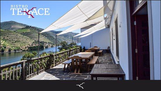 Folgosa, البرتغال: Had a great experience eating @ Bistro Terrace at Quinta do Tedo! 