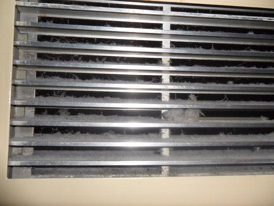 Daresbury, UK: Heating duct