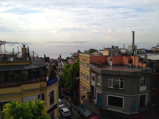 Hotel Empress Zoe: View of the Sea of Marmara