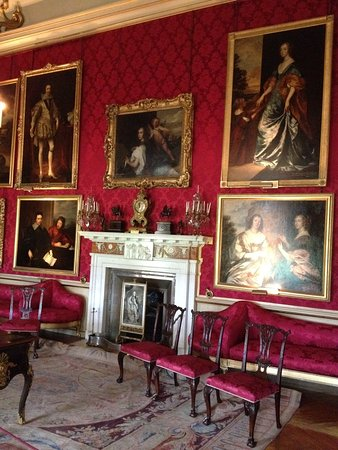 Woodstock, UK: One of the State rooms