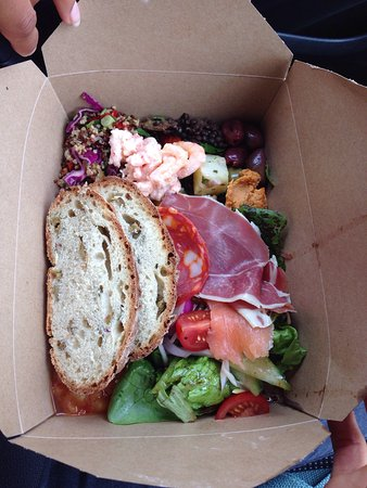 Narberth, UK: Enjoyed a take away Frittata and a Taster box. Very tasty and look beautiful!