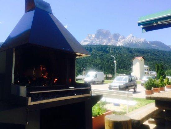 Borca di Cadore, Italy: Terrazza grill