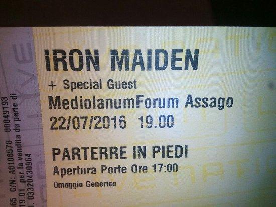 Assago, Ιταλία: Mediolanum Forum