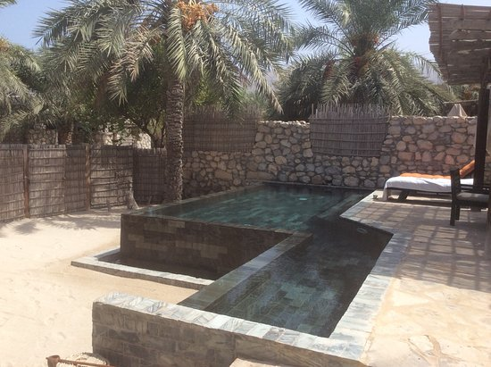 Six Senses Zighy Bay: Pool villa
