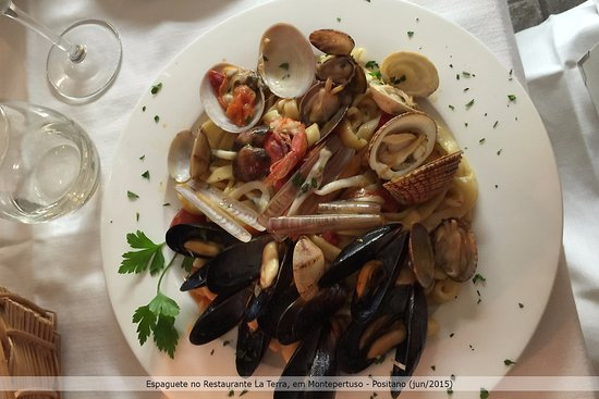 Montepertuso, อิตาลี: Espaguete