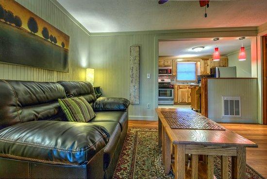 Linville Falls, Karolina Północna: One-Bedroom Cottage