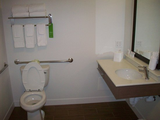 Hampton Inn Uniontown: Handicap Sink