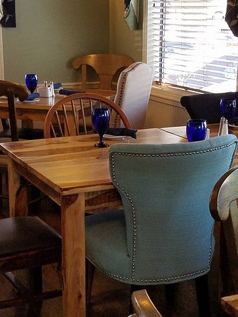 Methuen, MA: Every table has mismatched chairs