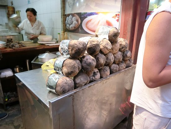 叫化鶏 - 上海、七宝老街の写真 ...