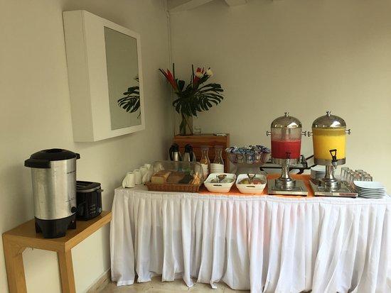 Delirio Hotel: café da manhã