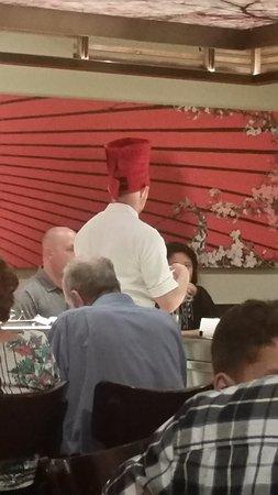Бивертон, Орегон: Chef interacting with guests