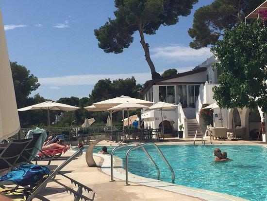 Hotel Cala d'Or: Pool area