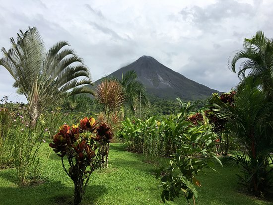 Arenal Kioro: View from our room