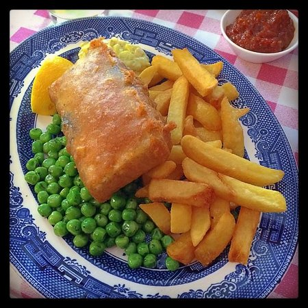 The Coach & Horses: Tofish and Chips