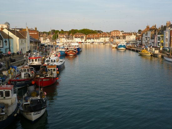 Weymouth, UK: Eventide on The Harbour.