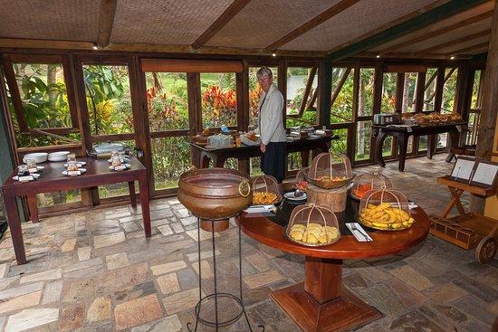 Lakaz Chamarel Exclusive Lodge: The breakfast