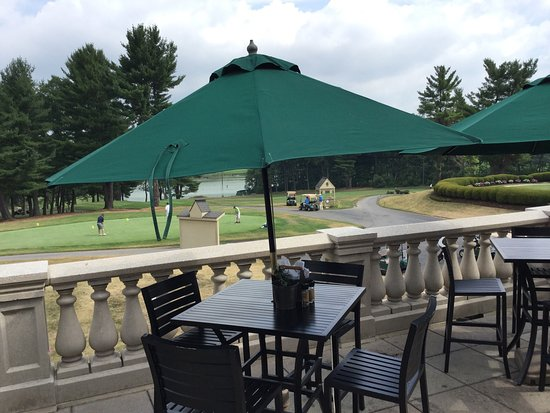 State College, PA: Outside seating with a view