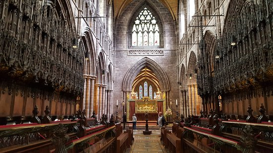 Chester Cathedral: Interior de la catedral de Chester