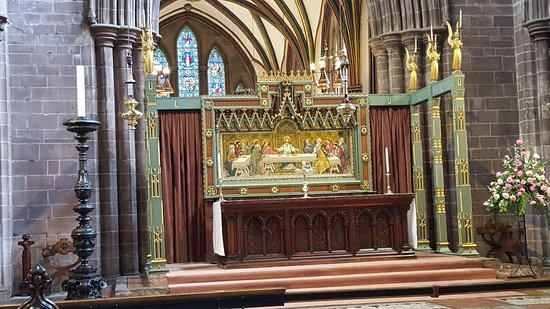 Chester Cathedral: Altar de la catedral de Chester