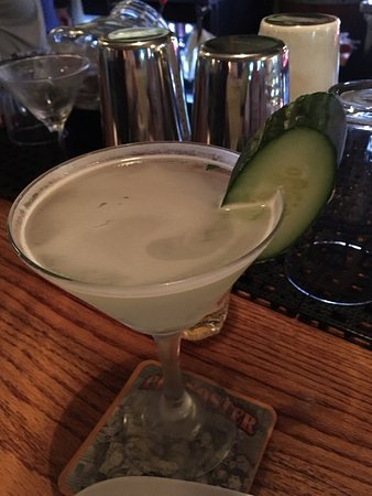 Maumee, OH: The kirk cocktail - fresh and refreshing cucumber drink
