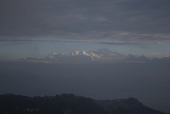 Tiger Hill: Kanchenjunga as seen from>100KM