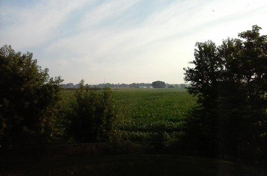 Sleep Inn, Inn & Suites Ronks : View from second floor hall window overlooking Amish Farm.