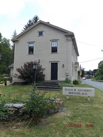 Adams, MA: Susan B. Anthony Birthplace