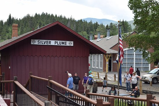 Georgetown, CO: Silver Plume station, the top of the line.