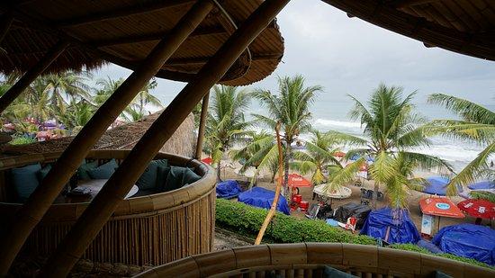 Bali Mandira Beach Resort Spa View From Azul Club Second Level