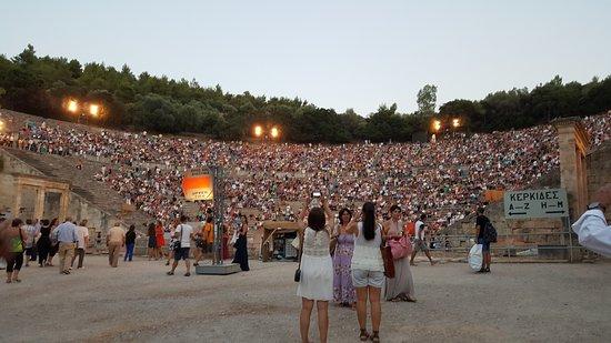 Epidavros, Grecja: The Theater seats