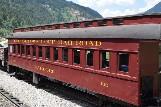 Georgetown, Kolorado: Stock in Silver Plume. Silver Plume is the stop for seeing old rolling stock.