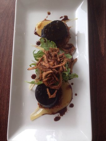 Porthleven, UK: Pork Belly & Black Pudding Starter