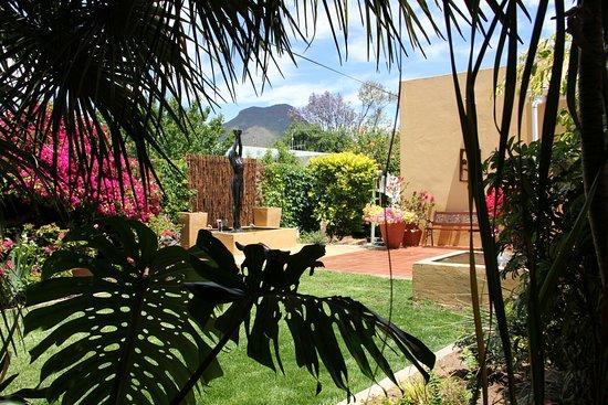 Graaff-Reinet, Sudáfrica: Garden Back