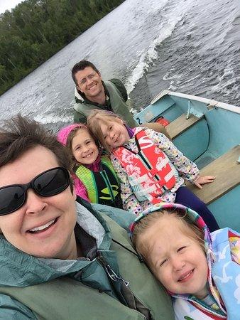 Ely, MN: Family selfie
