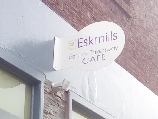 Eskmills Cafe Dalkeith Sign