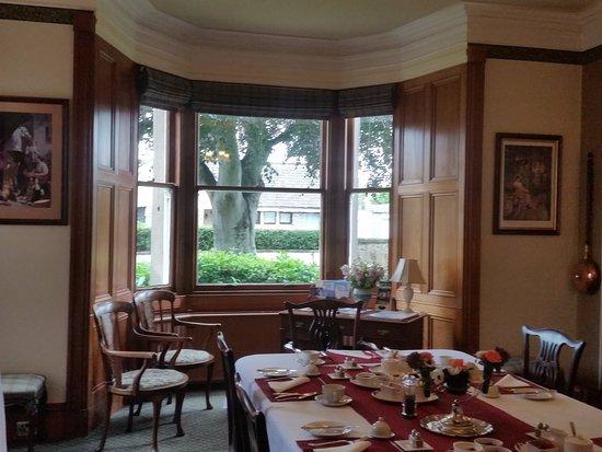Inveran Lodge: La sala della colazione