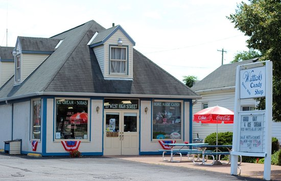 Circleville, OH: Wittich's Candy Shop