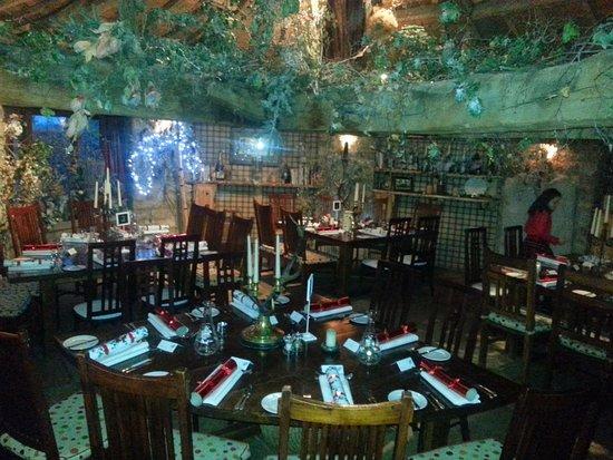 The Star Inn: Christmas (& Birthday) party setup