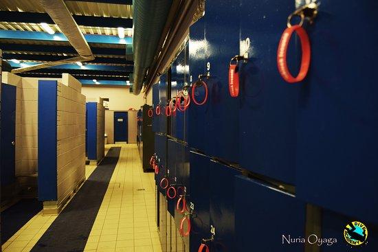 Lahinch, أيرلندا: lockers