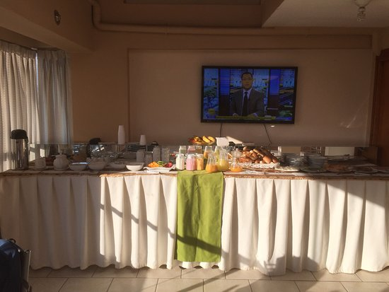 Hotel Unumizu Cusco: Morgenbuffet