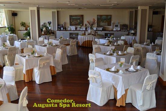 Augusta Spa Resort: Precioso comedor del Hotel.